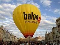 Balony v Telči