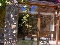 Zimní zahrada - pronájem chalupy Telč - Lipky