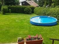 Bazén - chata k pronájmu Seč - Ústupky