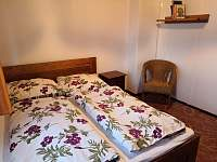 ložnice 1 - pronájem chaty Seč - Ústupky