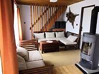 Obývák - chata ubytování Seč - Ústupky