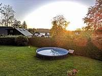 Zahrada - chata k pronajmutí Seč - Ústupky