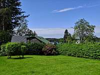 Zahrada - pronájem chaty Seč - Ústupky