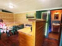 Smolův mlýn - dřevěný interiér