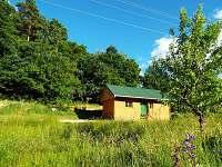 Chata k pronajmutí - dovolená Koupaliště Zbýšov rekreace Újezd u Rosic