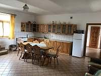 Kuchyňský kout. - chalupa ubytování Dudín