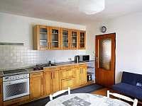 Kuchyň - chalupa ubytování Sněžné