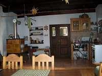 kuchyň - chalupa ubytování Havlíčkova Borová