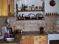 kuchyňský kout - chalupa k pronajmutí Havlíčkova Borová