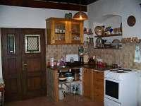 kuchyňský kout - pronájem chalupy Havlíčkova Borová