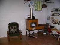 obývací pokoj - chalupa k pronájmu Havlíčkova Borová