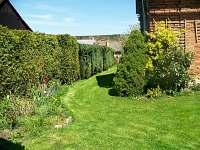 zahrada - chalupa ubytování Havlíčkova Borová