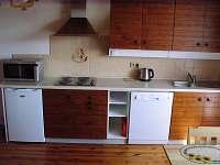 Kuchyňka v pokoji č. 1