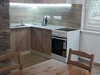 Chata Hastrman kuchyň - k pronájmu Škrdlovice