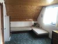 Ložnice 1 - pronájem chaty Škrdlovice