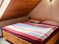 ložnice - chalupa k pronajmutí Trhová Kamenice - Rohozná