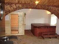 Relaxační místnost - sauna - vířivka