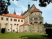 Bazilika Trebic památka Unesco - Kojetice na Moravě
