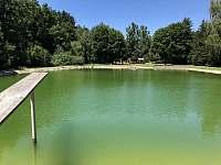 Koupaliště v obci - Kojetice na Moravě