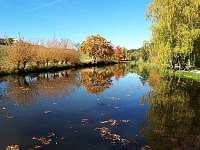 Rybník podzim