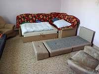 Fialový pokoj - chalupa ubytování Bransouze