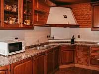 Kuchyň Ski bar - chata ubytování Hluboká u Trhové Kamenice