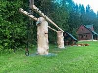 Workoutové hřiště a prolézačka - Hluboká u Trhové Kamenice