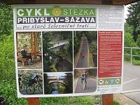 cyklostezka - Sázava