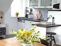 Apartmán 2 - kuchyňka od jídelny