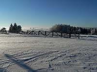 Okolí v zimě - Kameničky