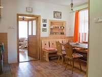kuchyně - chalupa k pronajmutí Bohuňov