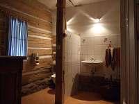 Koupelna s WC - pronájem chalupy Javorek
