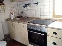 Kuchyně - pronájem chalupy Javorek