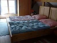 Ložnice 1 podkroví - chalupa ubytování Javorek