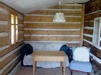 Uzavřená veranda - chalupa k pronájmu Javorek