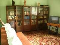 Knihovna společenská místnost s možností spaní