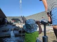 Vodní dům u přehrady Švihov - chalupa k pronájmu Sázavka