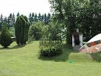 zahrada - chalupa k pronájmu Chýstovice