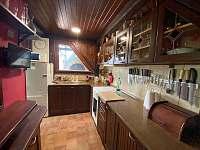 Kuchyňka - pronájem chaty Třebíč