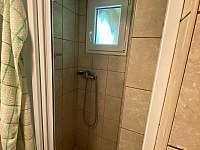 Sprchový kout - pronájem chaty Třebíč