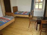 Garsoniéra - Modrý pokoj - pronájem apartmánu Rybníček u Pelhřimova
