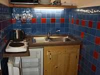 Kuchyň v garsoniéře