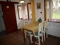 Velký apartmán - jídelna - pronájem Rybníček u Pelhřimova