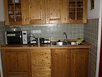Velký apartmán - kuchyň - Rybníček u Pelhřimova