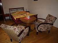Velký apartmán - ložnice - ubytování Rybníček u Pelhřimova