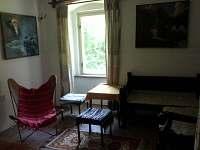 Odpočinková místnost - chalupa ubytování Útěchovice u Hořepníka