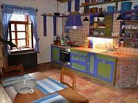 Kuchyň - pronájem chalupy Meziklasí