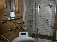 Spodní koupelna - chalupa k pronájmu Meziklasí