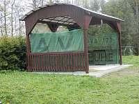 Letní altán - chata ubytování Polička