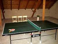 stolní tenis - Hříběcí u Horní Cerekve